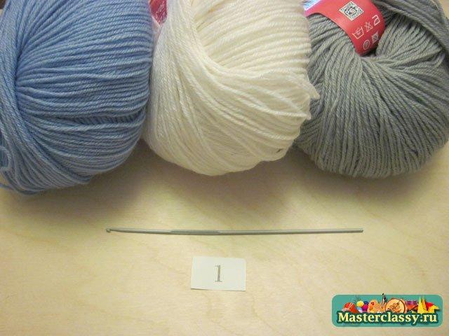 Мастер-класс вязаный шарф женский